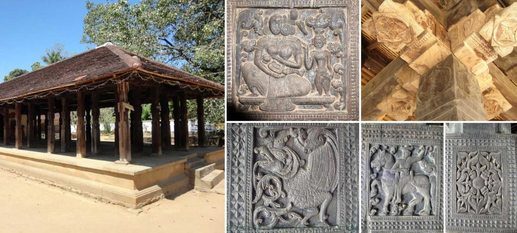 Embekka Devalaya – Temple of Wood Carvings